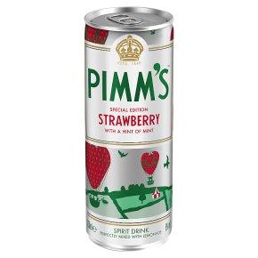 Pimm's Strawberry & Lemonade