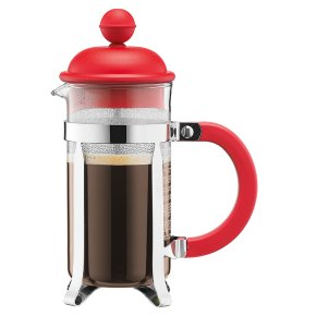 Bodum Red 3 Cup Cafetiere