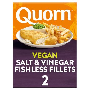 Quorn 2 Battered Fishless Salt & Vinegar Fillets