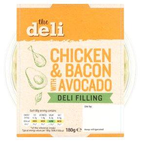 The Deli Chicken & Bacon with Avocado Deli Filling