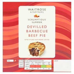 Waitrose Devilled Barbecue Beef Pie