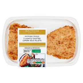 Waitrose Lightly Dusted Lemon Sole