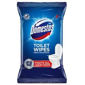 Domestos Toilet Wipes x40