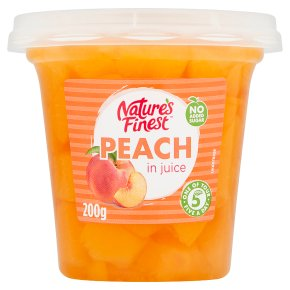 Nature's Finest Juicy Peach in Juice