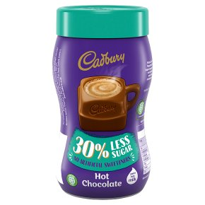 Cadbury Hot Chocolate 30 Less Sugar