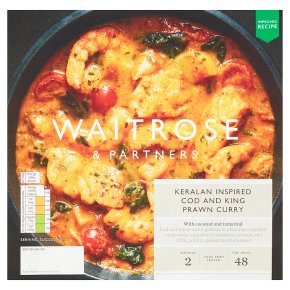 Waitrose Keralan Cod, Squid & King Prawn Curry
