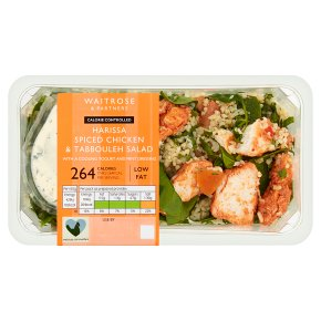 Waitrose LoveLife Calorie Controlled harissa chicken & tabbouleh salad