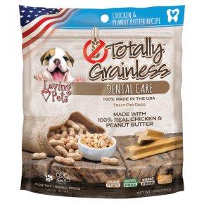 Totally Grainless Dental Care Chicken & Peanut Butter S