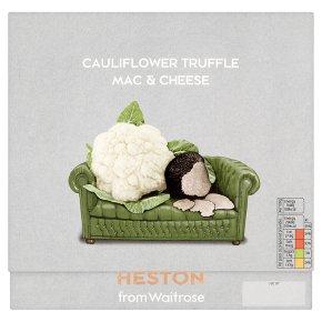 Heston from Waitrose cauliflower truffle macaroni cheese