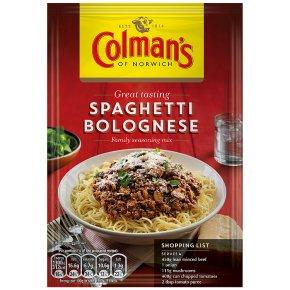 Colman's Spaghetti Bolognese Mix