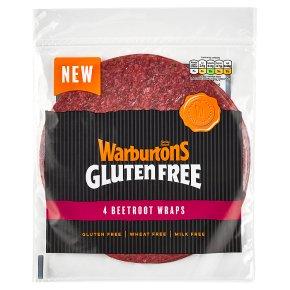 Warburtons Beetroot Wraps