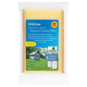 Waitrose French mature Comté cheese, strength 4