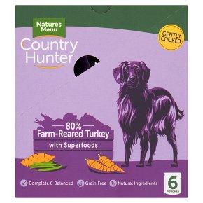 Country Hunter Farm Reared Turkey with Fruit & Veg