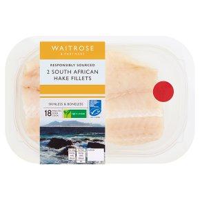 Waitrose South African Hake Fillets