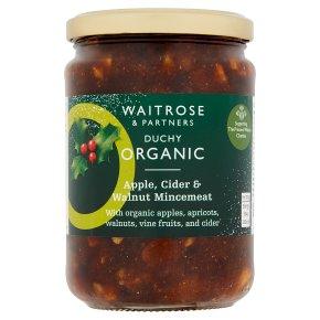 Waitrose Duchy Apple & Walnut Mincemeat
