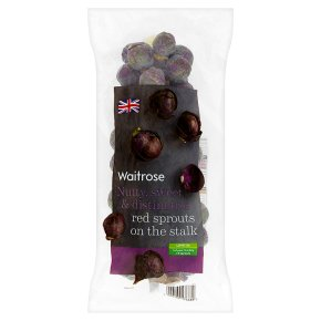 Waitrose Limited Selection red brussels