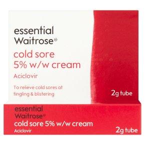 essential Waitrose Cold Sore Cream