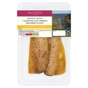 Waitrose Honey & Soy Hot Smoked Mackerel