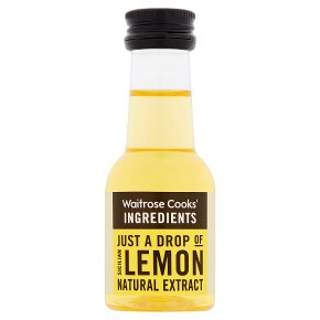 Waitrose Cooks' Homebaking lemon extract