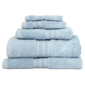Waitrose Home eggshell Egyptian cotton bath towel