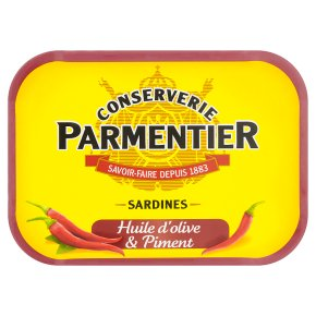 Hyacinthe Parmentier sardines in olive oil and chilli