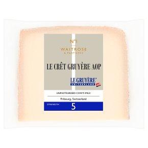 Waitrose Le Cret Gruyere