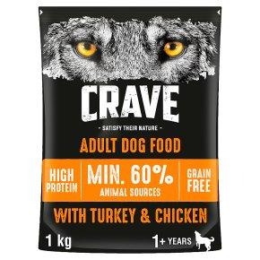 Crave Dog with Turkey & Chicken