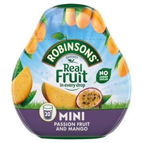 Robinsons Squash'd Passion & Mango No Added Sugar