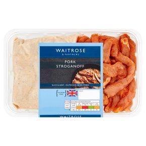 Waitrose Pork Stroganoff