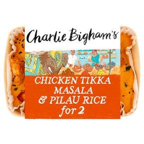 Charlie Bigham's Chicken Tikka Masala & Pilau Rice