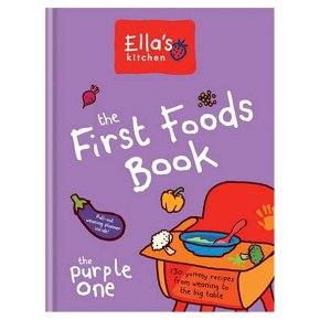 First Foods Book The Purple One Ellas Kitchen