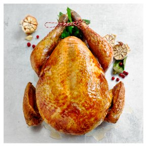 Waitrose 1 Free Range Dry Aged Bronze Feathered Turkey (with giblets)