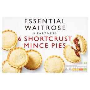 essential 6 Short Crust Mince Pies