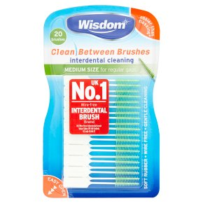 Wisdom Clean 20 Between Brushes
