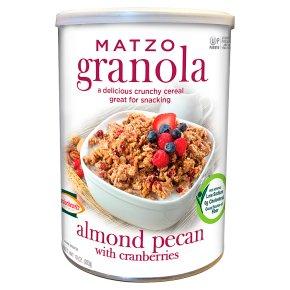 Matzo Almond Pecan with Cranberries Granola
