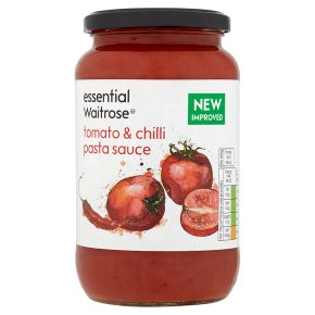 essential Waitrose tomato & chilli pasta sauce