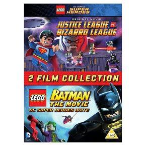 DVD LEGO Justice League/ LEGO Batman