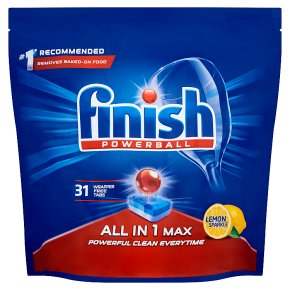 Finish All In 1 Max 34 Dishwasher Tablets