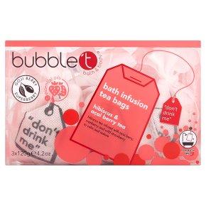 Bubble T Hibiscus Bath Tea Bags