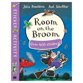 Room on the Broom Sticker Book Julia Donaldson