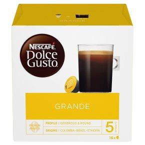 Nescafé Dolce Gusto grande caffé crema coffee pods 16 drinks