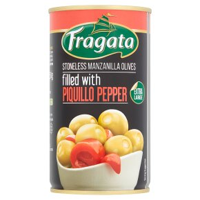 Fragata Olives with Piquillo Peppers