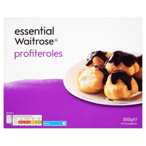essential Waitrose frozen profiteroles