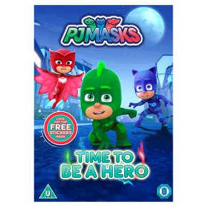 DVD PJ Masks: Time to be a Hero