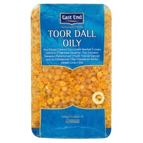 East End toor dall oily
