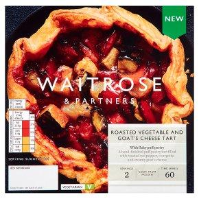 Waitrose Roasted Vegetable & Goat's Cheese Tart