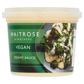 Waitrose Vegan Creamy Sauce