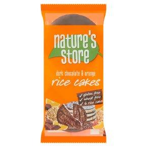 Nature's Store Dark Chocolate Orange Rice Cakes