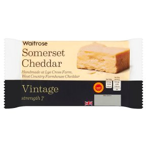 Waitrose Somerset Cheddar Strength 7 Vintage