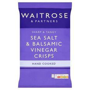 Waitrose Sea Salt & Vinegar Hand Cooked Crisps